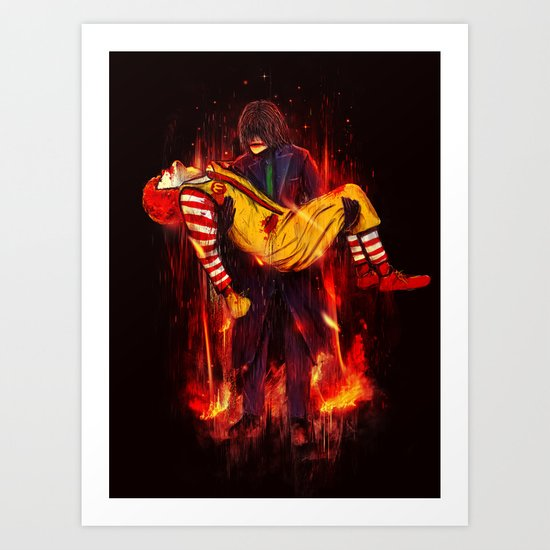 This Is Not a Joke! Art Print