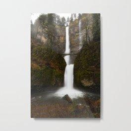 Multnomah Falls, Columbia River Gorge, OR Metal Print