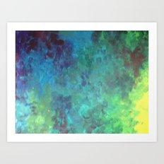 Colors of a fish Art Print
