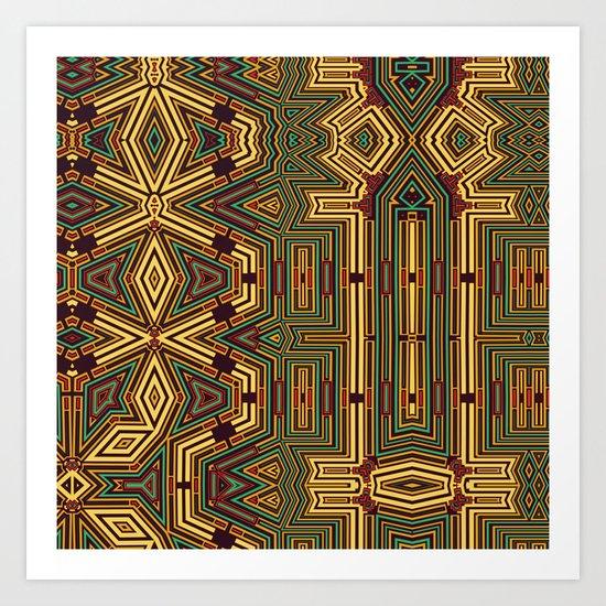 Abstract 49 Art Print