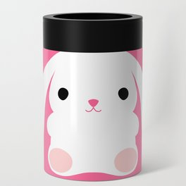 Mei the Strawberry Rabbit Can Cooler