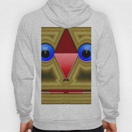 Golden rednose mask Hoody