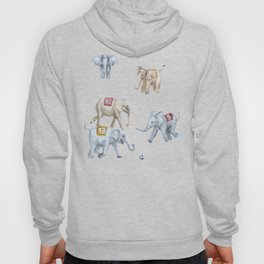 Elephant Football Hoody