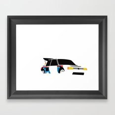 205 T16 Framed Art Print
