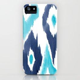 Malibu Ikat iPhone Case