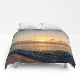 Fading Light Comforters