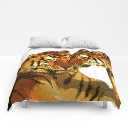 Love Cats Comforters