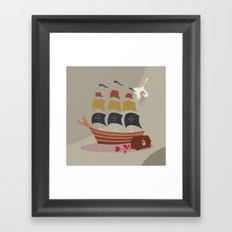 henk Framed Art Print