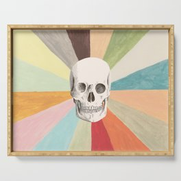 Skull is Cool Serving Tray