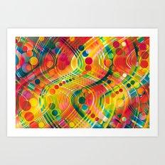 datastream 73 Art Print