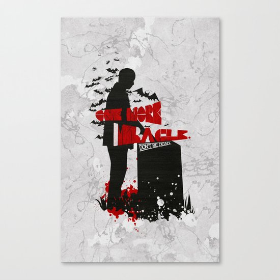 One More Miracle : Sherlock Canvas Print