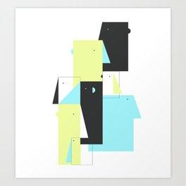 overpopulated canvas Art Print