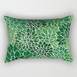 Floral Abstract 23 Rectangular Pillow
