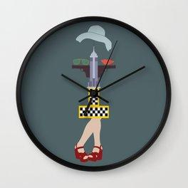 Taxi driver Wall Clock