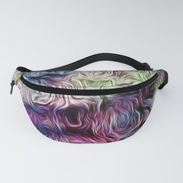 Fusion Of Pastel Fanny Pack