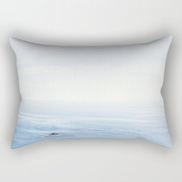 The Sea on a Sunny Day Rectangular Pillow