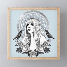 Stevie Nicks Angel Of Dreams Framed Mini Art Print