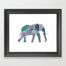 King Elephant Framed Art Print