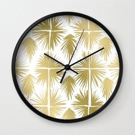 Radiate Gold Wall Clock
