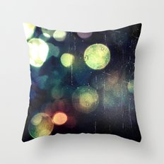 Late Night Throw Pillow
