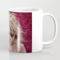 forever young Mugs featuring Forever young by Patrik Åkervinda