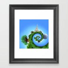 WDW Icons Framed Art Print