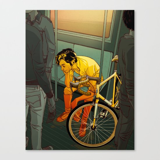 The Ride (2009) Canvas Print