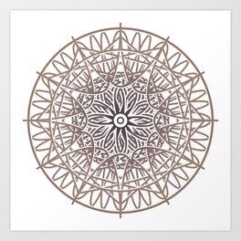 Mystical sign 04 Art Print