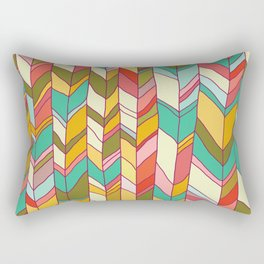Knitted Pattern Rectangular Pillow