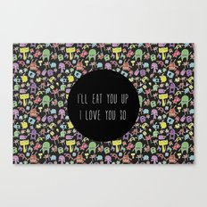 Little monsters Canvas Print