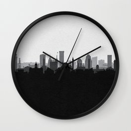City Skylines: Baltimore (Alternative) Wall Clock