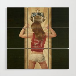 VINTAGE GIRLS - Footnall Wood Wall Art