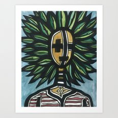 Native of Nature Art Print