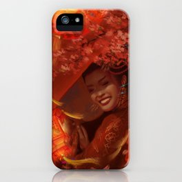 Miss Ying-Ning iPhone Case