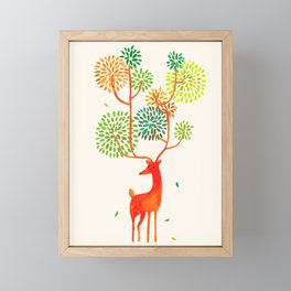 For the tree is the forest Framed Mini Art Print