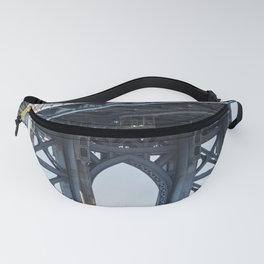 Manhattan Bridge Empire Blue Fanny Pack