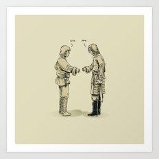 Pleased To Meet You Art Print