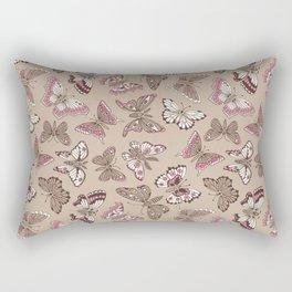 Butterflies pattern Rectangular Pillow