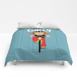 Positively Girly - biker Comforters