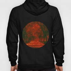 Red afternoon Hoody