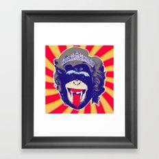 Queen Kong Framed Art Print