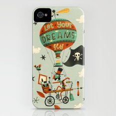 Make Your Dreams Fly iPhone (4, 4s) Slim Case