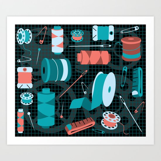 cotton on Art Print