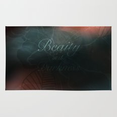 Beauty in the Darkness Rug