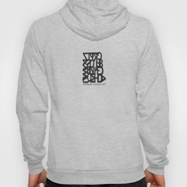 The Dyslexic Alphabet Hoody