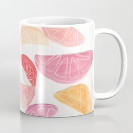Watercolor Fruit Slices Coffee Mug