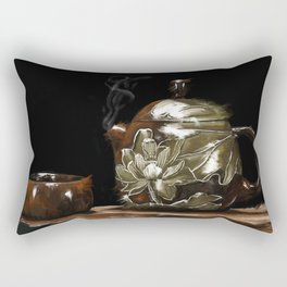 Zen tea Rectangular Pillow