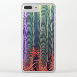 Tropical Jungle Clear iPhone Case