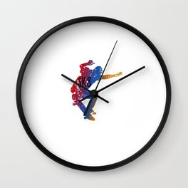 Awesome & Cool Skating and Skateboarding Wall Clock