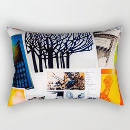 True Vintage Style Rectangular Pillow